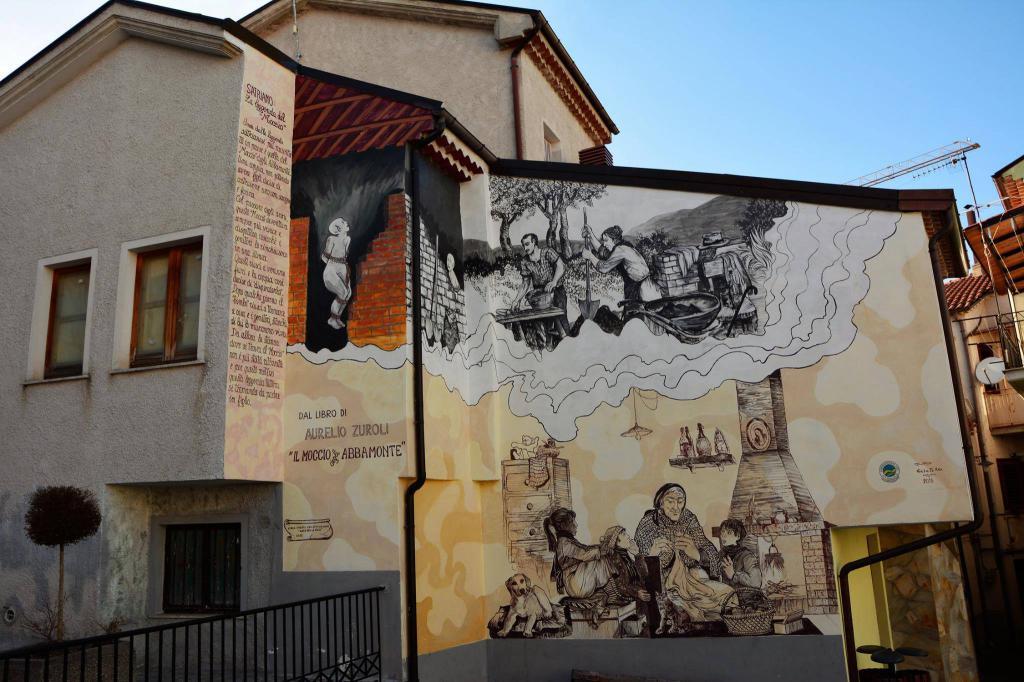 Satriano Di Lucania Murales.Satriano Di Lucania Pz La Mappa Dell Italia Che Cambia